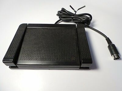 VINTAGE FS-53 FOOT CONTROL PEDAL for Sanyo Dictation Machine Tape Recorder