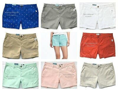"""NWT OLD NAVY Authentic Women's Mid-Rise 5"""" Inseam Shorts, All Sizes + Colors"""