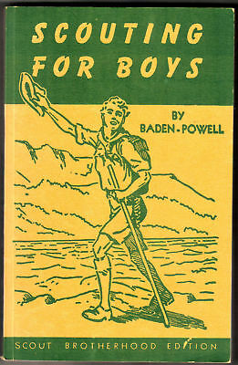 Scouting For Boys Lord Baden-Powell Scout Brotherhood Edition