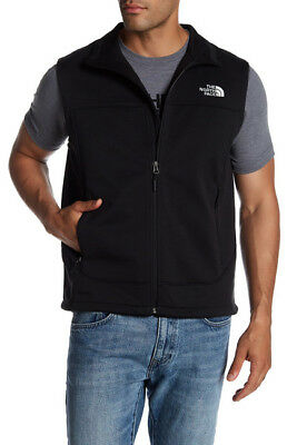 The North Face Men's Full Zip Black Canyonwall Vest