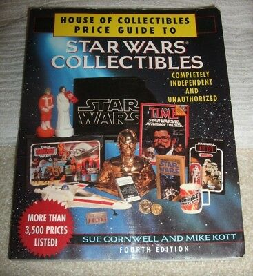 STAR WARS PAPERBACK PRICE GUIDE BOOK  ** STAR WARS COLLECTIBLES ** 4th EDITION
