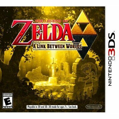 The Legend Of Zelda: A Link Between Worlds 3D For 3DS Game Only 6E