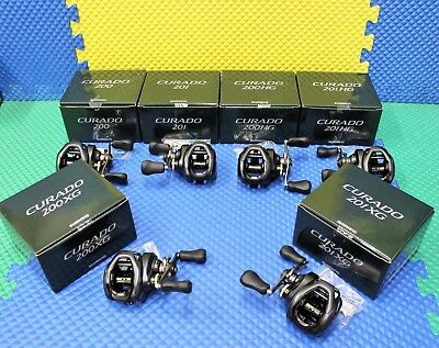 Shimano Curado K Series Dark Green Box Low Profile Baitcasting CHOOSE YOUR MODEL