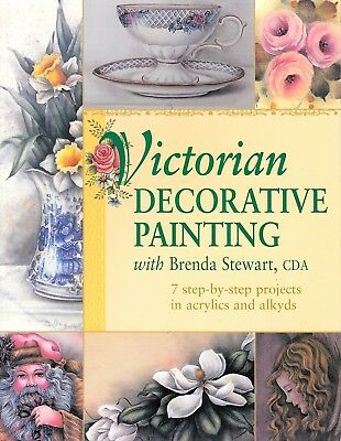 Brenda Stewart, CDA : VICTORIAN DECORATIVE PAINTING Book - 7 Projects!