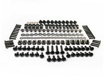 Black Fairing Bolt Kit Fasteners Body Screws for Honda CBR900RR 929 2000 2001