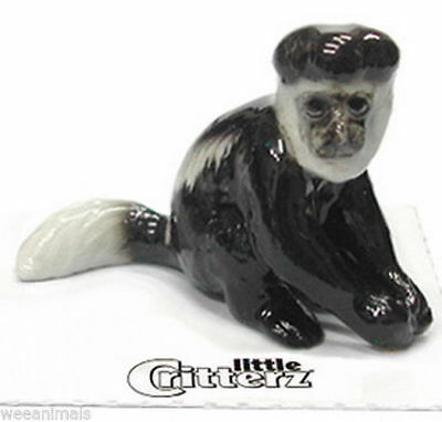 "Little Critterz LC434 ""Diani"" Colobus Monkey Miniature Figurine"