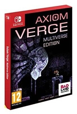 Axiom Verge Multiverse Edition (PAL Import) Nintendo Switch New!
