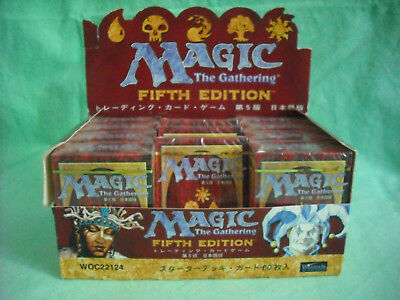 5th EDITION STARTER DECK :: ASIAN EDITION :: Magic the Gathering :: ab 13 Jahren
