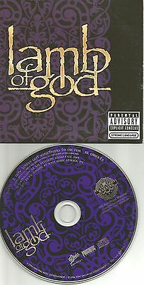 LAMB OF GOD Bonus 3 SONG RARE LIVE PROMO CD Single  LIMITED Edition USA 2006