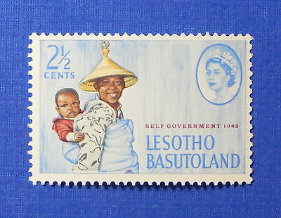 1965 BASUTOLAND 2 1/2c SCOTT# 97 S.G.# 94 UNUSED NH                      CS20124