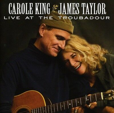 Live at the Troubadour by James Taylor (Soft Rock)/Carole King (CD, Jul-2011,...