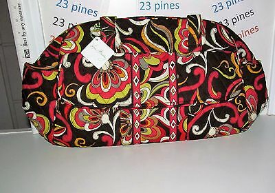 Vera Bradley Vintage Retired Puccini Diaper Baby Or Travel Bag & Pad New Nwt