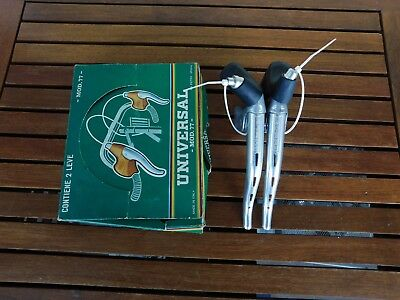 NOS NIB levee freni Universal MOD. 77 brake levers with replacement hoods
