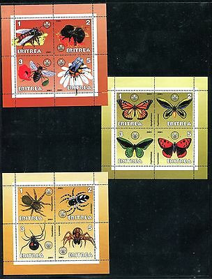 Eritrea, MNH, Insects Butterflies & Moths, Local issue. x26076