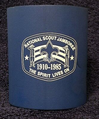 BSA National Scout Jamboree 1910-1985  soda can coozie insulator beverage holder