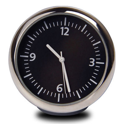 New Car Dashboard Mini Quartz Watch Pointer Digital Clock Luminous Time Clock A2