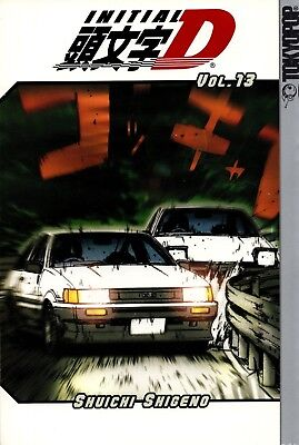 Initial D Vol 13 GN action manga English language high-speed street racing new