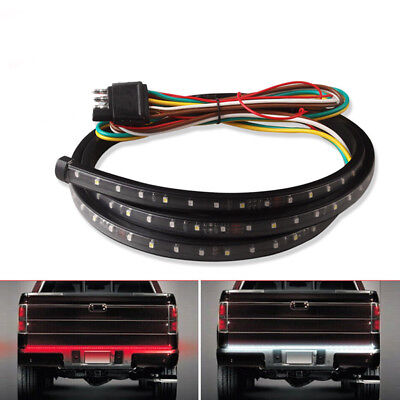 "5-Function 40"" 90 LED Tailgate Bar Brake Reverse Light Strip for Ford Chevrolet"