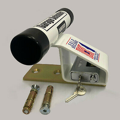 PJB Garage Defender White With Padlock (PJB320)