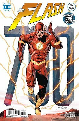 Flash #39 Variant Near Mint First Print Bagged And Boarded