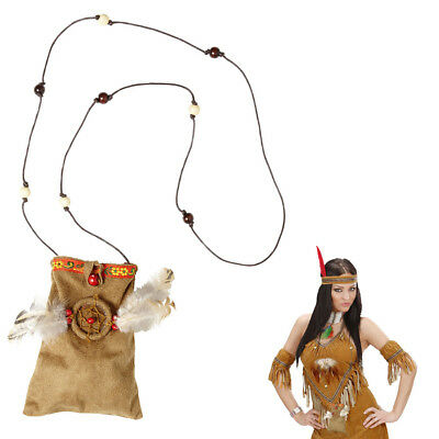 INDIANER TASCHE # Karneval Fasching Indianerin Squaw Schmuck Kostüm Party 05902