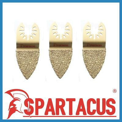 Spartacus 35mm Carbide Finger Rasp Grout Mortar Remover Multitool Metal