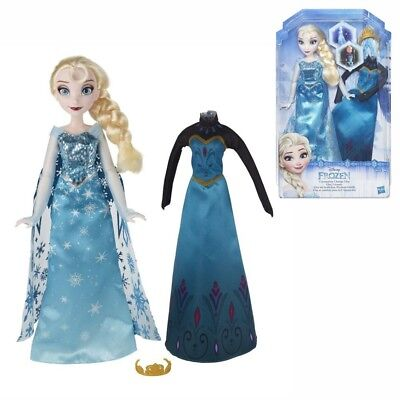 Elsa Doll | Disney Frozen | Hasbro B5170 | with 2 Festive Outfits