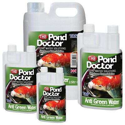 TAP The Pond Doctor Anti Green Water Algae Clean Clear Treatment Fish Koi Pond