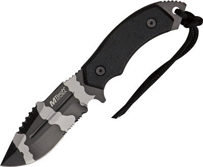 "Mtech Urban Camo Tactical Knife, 9"" Overall, 4.25"" Stainless Blade, Mt2018Duc"