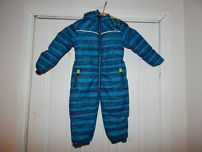 Kanz Blue Snowsuit In Age 18 Months