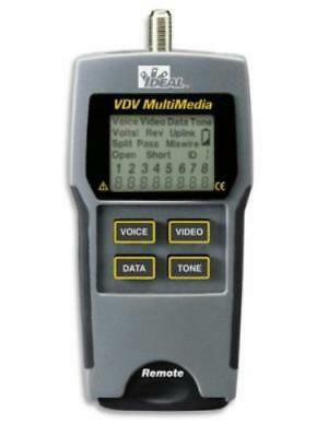 IDEAL VDV Multimedia Cable Tester / 33-856 - New / Sealed