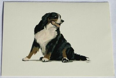 Bernese Mountain Dog Dog Zeppa Studios Fur Children Note Cards Set of 8