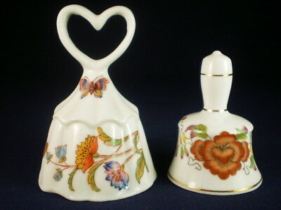 Small Floral Bells X 2