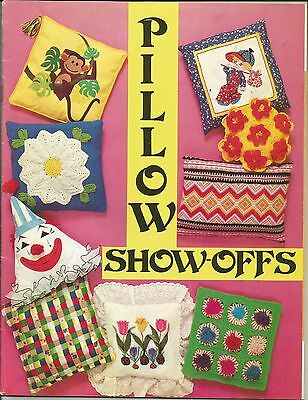 Pillow Show-Offs Lots Of Designs Complete Patterns & Instructions Book