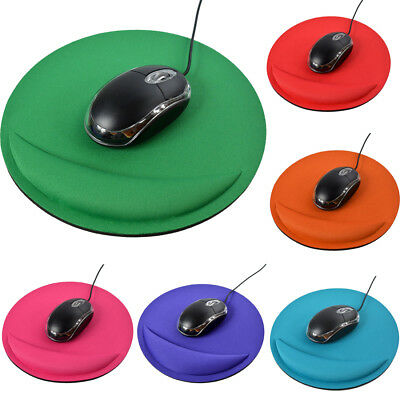 Gel Soft Mouse Mice Pad With Wrist Rest Support Mat Color For Gaming PC Laptop
