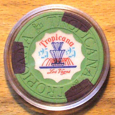$25. Tropicana Hotel Casino Chip -1972 - Las Vegas, Nevada
