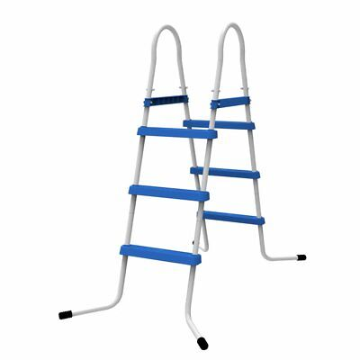 Jilong Poolleiter 90 cm Pool-Höhe 3 Stufen Schwimmbad-Treppe Pooltreppe Leiter