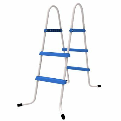 Jilong Poolleiter 84 cm Pool-Höhe 2 Stufen Schwimmbad-Treppe Pooltreppe Leiter