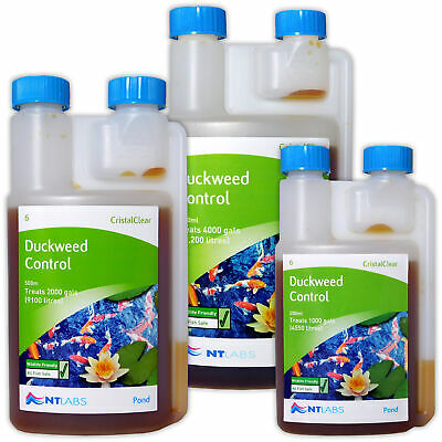 NT Labs Cristalclear Duckweed Reducer Control Treatment Garden Pond Fish Koi