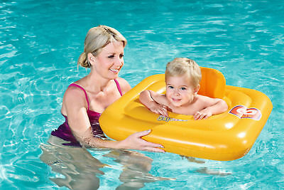 Swim Safe Round Baby Support Swiming Aid Pool Ring Trainer Seat 0-1 Years 32096
