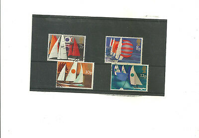 GB 1975 Sailing      set of 4 used stamps
