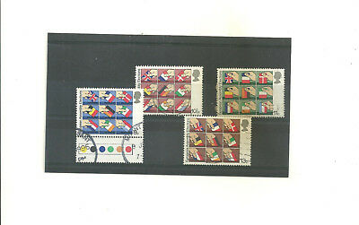 GB 1979 Direct Election to European Assembly         set of 4 used stamps
