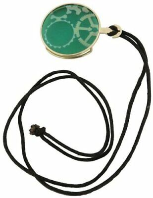 Adult Unisex Gold and Green Steampunk Monocle