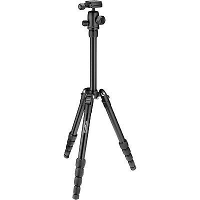 "Prima Photo Gear PHTRSBK Small 5-Section Travel Tripod (50"" max height) #40989"