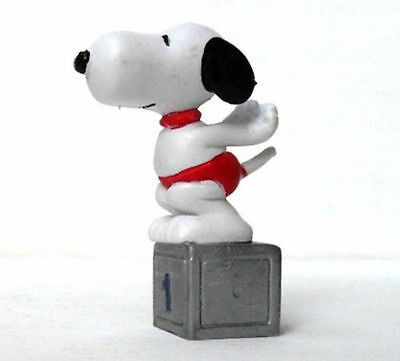 Snoopy Nuotatore-Serie Sportiva Anno 1958/66 United Feature-Hong Kong-Mis. Cm. 7