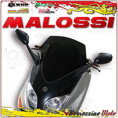 MALOSSI 4515361 CUPOLINO SPORT FUMÉ SCURO YAMAHA TMAX 500 ie 4T LC 2005