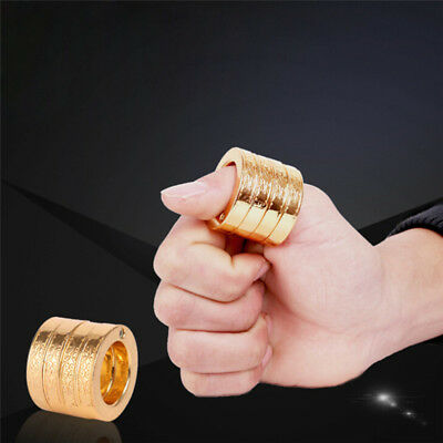 4x Self Defence Protect Ring Finger Breaker Emergency Rescue Survivals EDC Tools