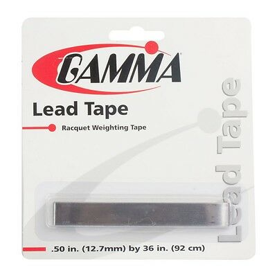 "Gamma Lead Tape - 1/2"" Width - Tennis Racket Customization - Free P&P"