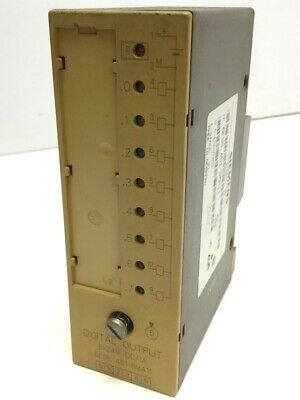 Siemens 6ES5 441-8MA11 Simatic S5 Digital Output 8 Point Used