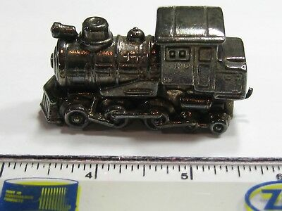 Train Locomotive Very Rare Vintage .925 Silver Collectible Very Cool Item